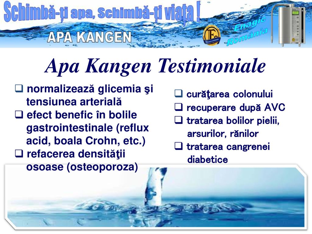 tratamentul viziunii apei