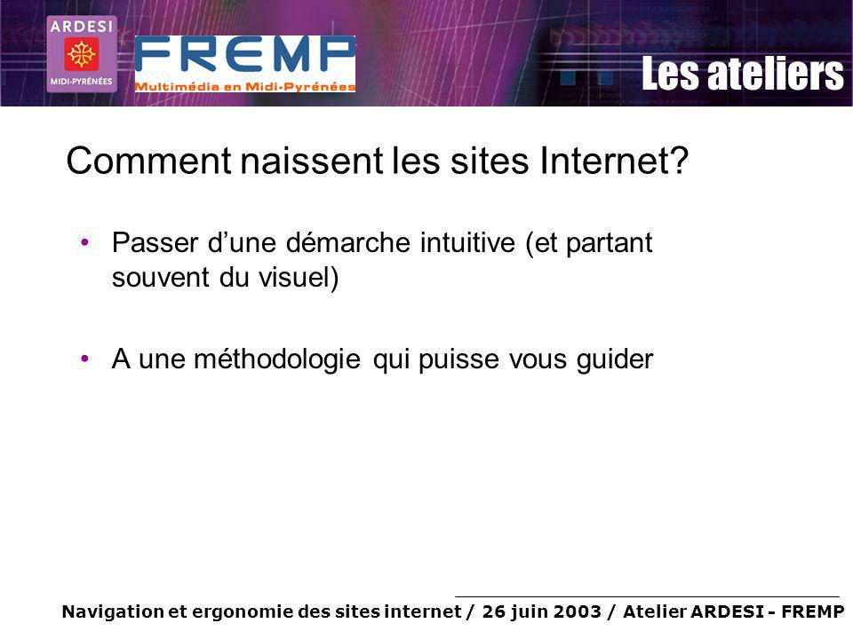 Comment naissent les sites Internet