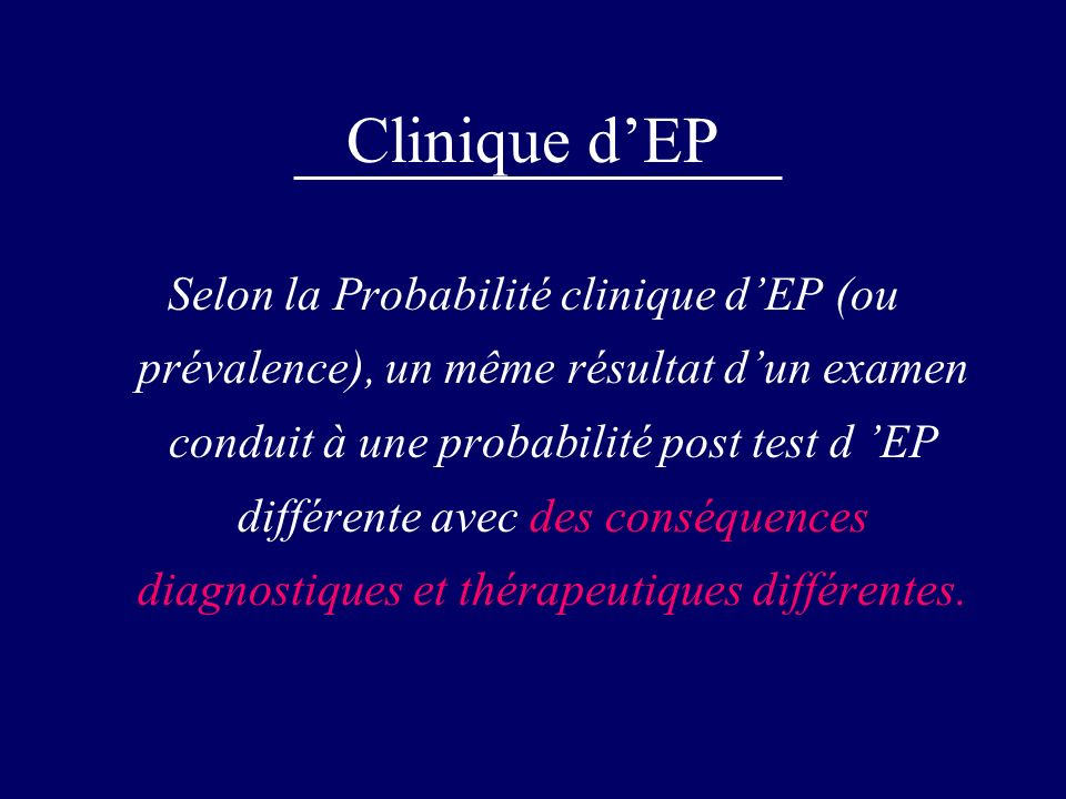 Clinique d'EP