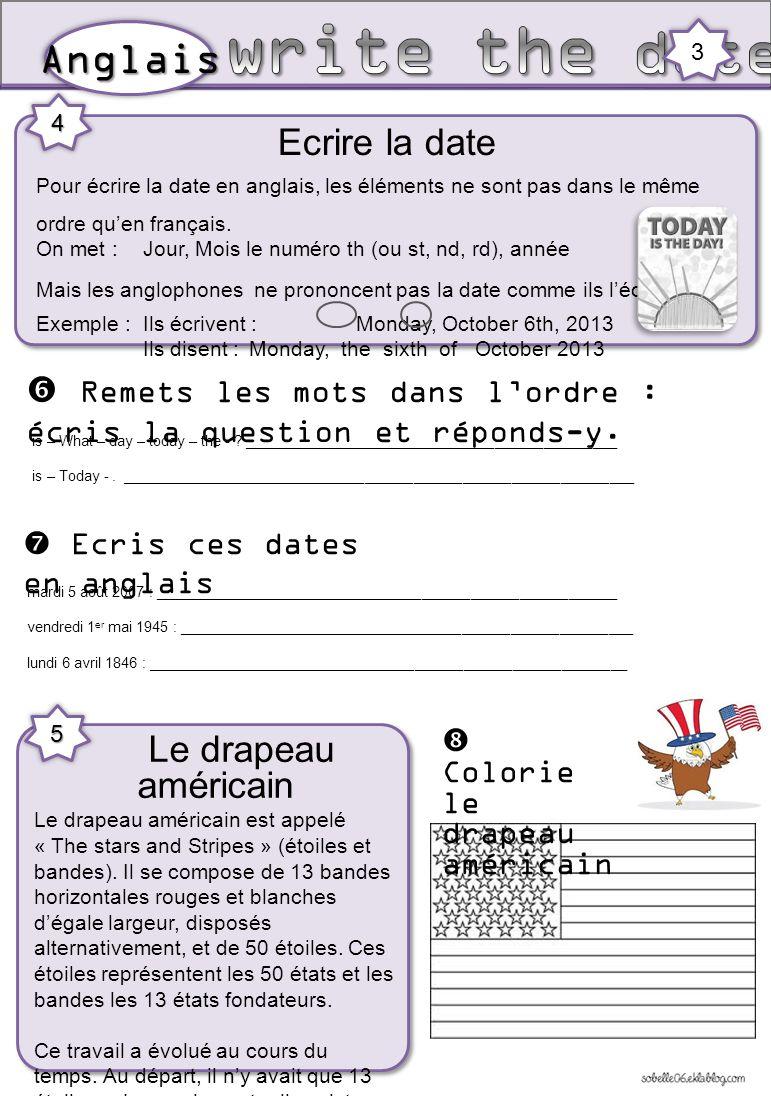 the days  les jours   the months  les mois