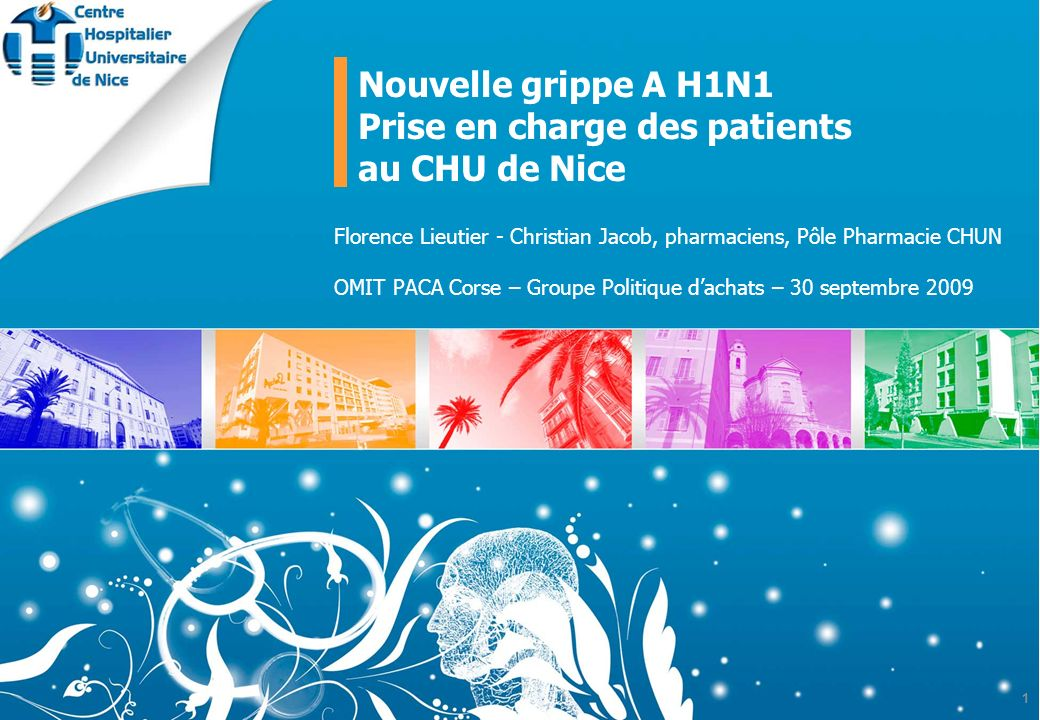 Prise en charge des patients au CHU de Nice