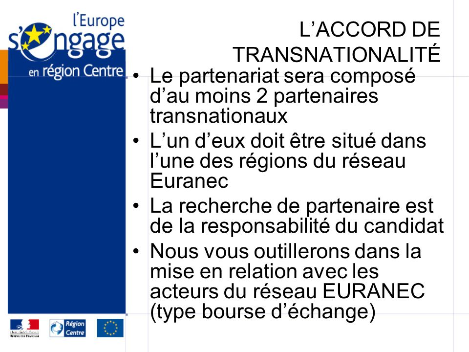 L'ACCORD DE TRANSNATIONALITÉ