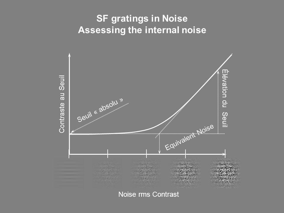 Assessing the internal noise