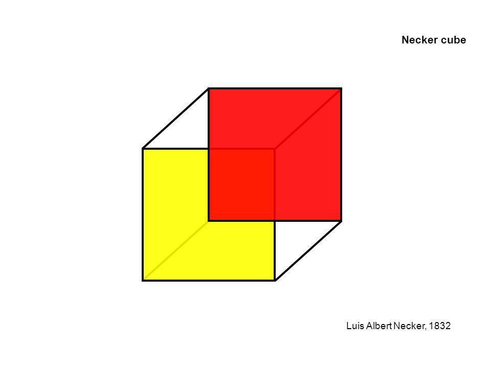 Necker cube Luis Albert Necker, 1832