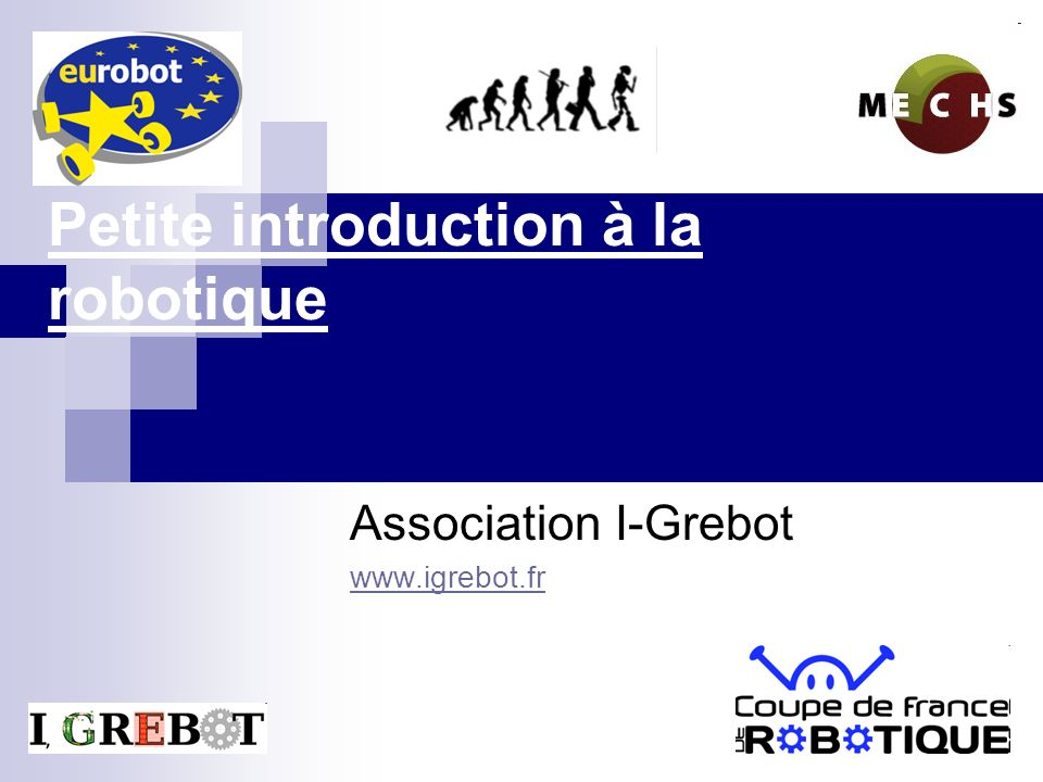 Petite introduction à la robotique