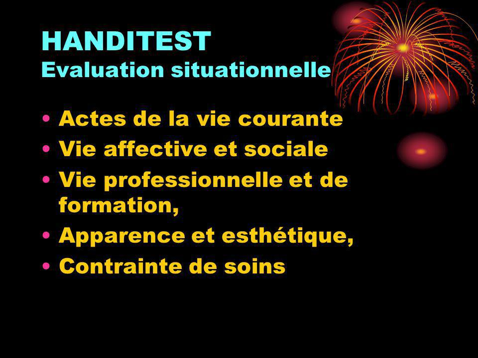 HANDITEST Evaluation situationnelle