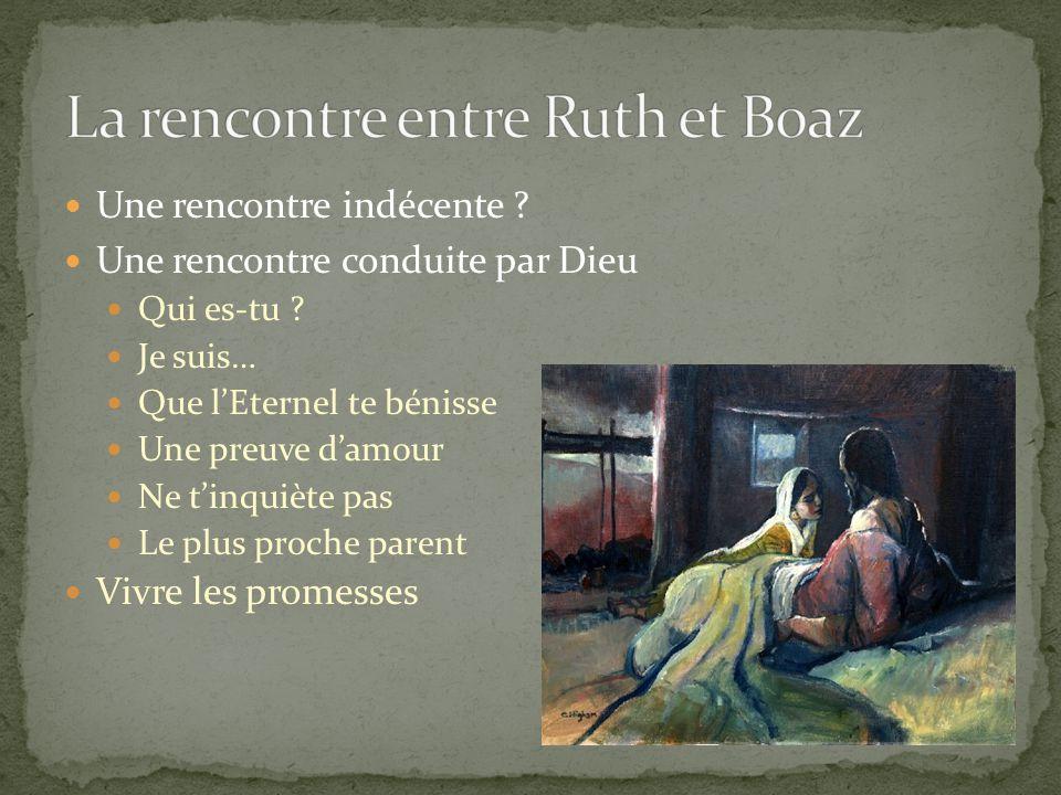 Rencontres Ruth Boaz