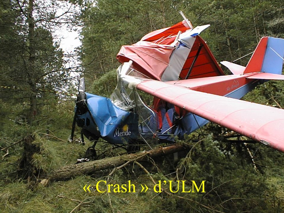 « Crash » d'ULM