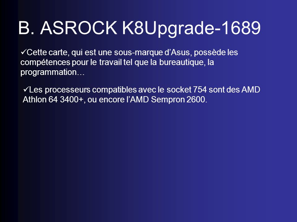 B. ASROCK K8Upgrade-1689