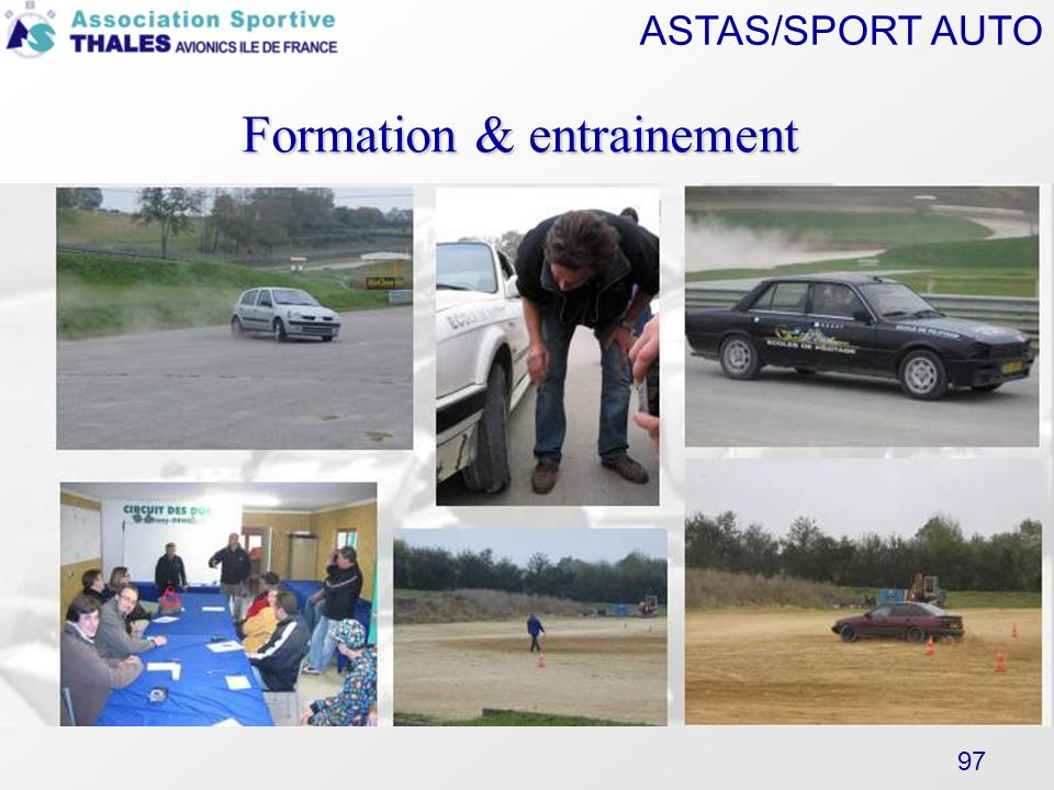 Formation & entrainement