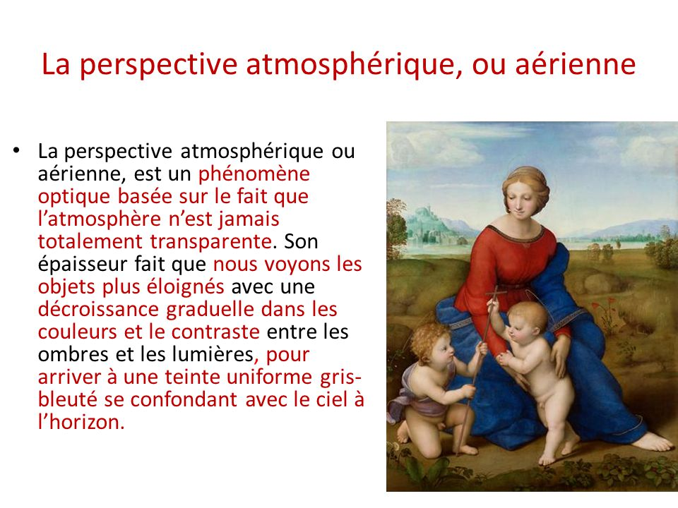 La Perspective Atmosphérique, Ou Aérienne
