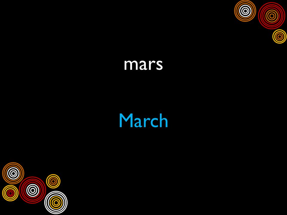 mars March