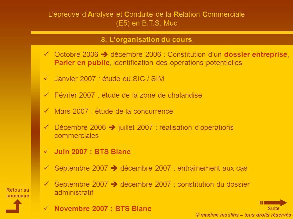 L'épreuve d'Analyse et Conduite de la Relation Commerciale - ppt ... 15 8.