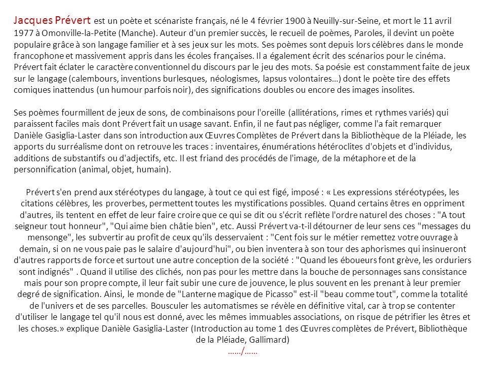 Jacques Prévert Pour Toi Mon Amour Par Nanou Et Stan Ppt