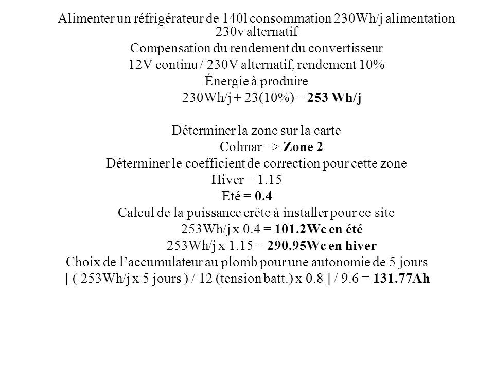 Compensation du rendement du convertisseur