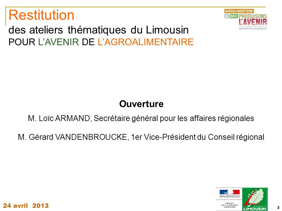 Rencontres regionales agroalimentaire bois