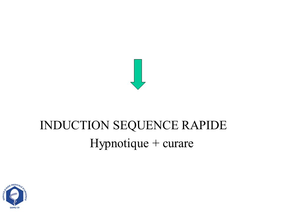 INDUCTION SEQUENCE RAPIDE