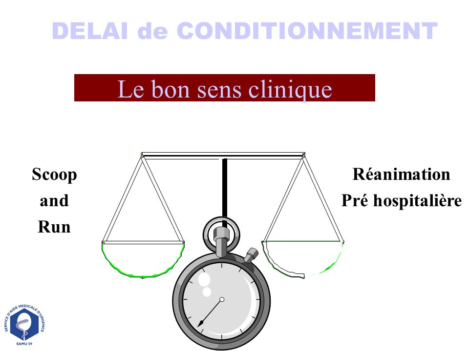 DELAI de CONDITIONNEMENT