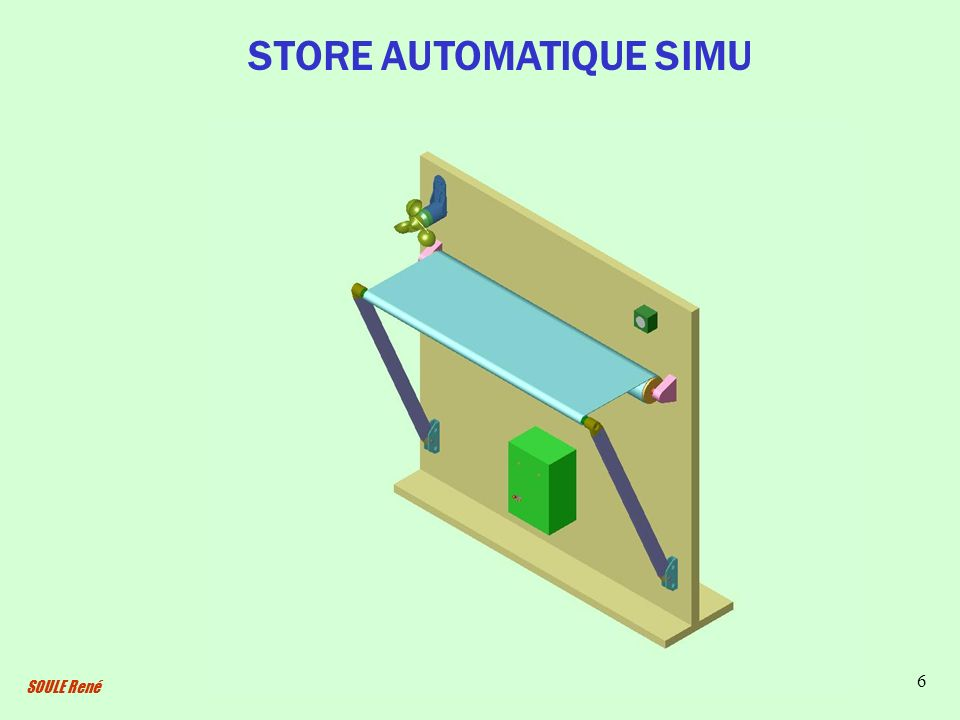 STORE AUTOMATIQUE SIMU
