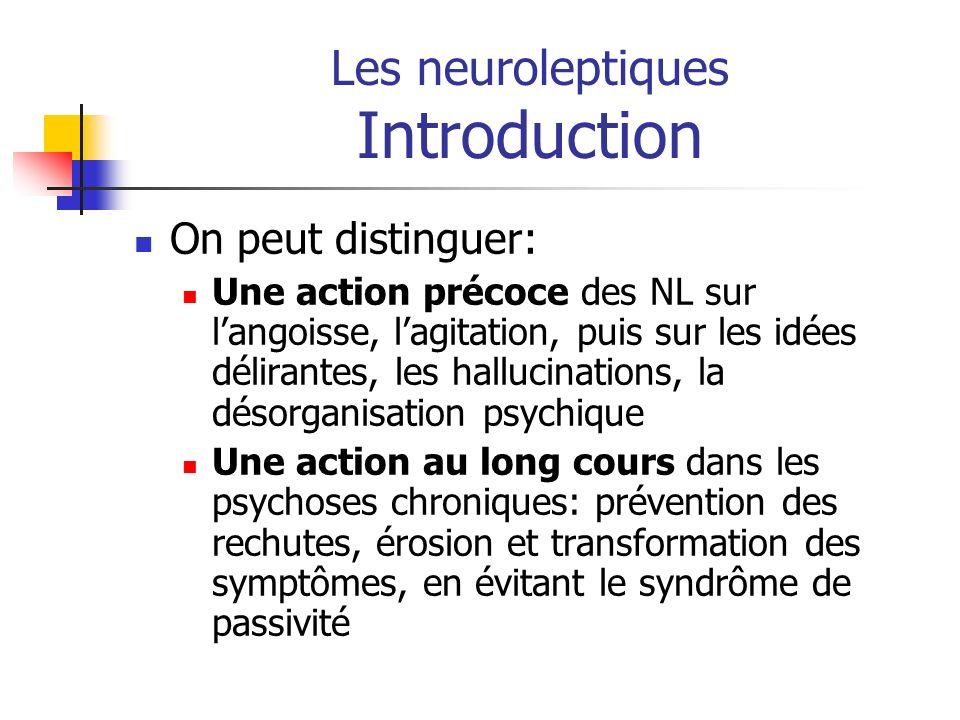 angoisse dues au neuroleptique
