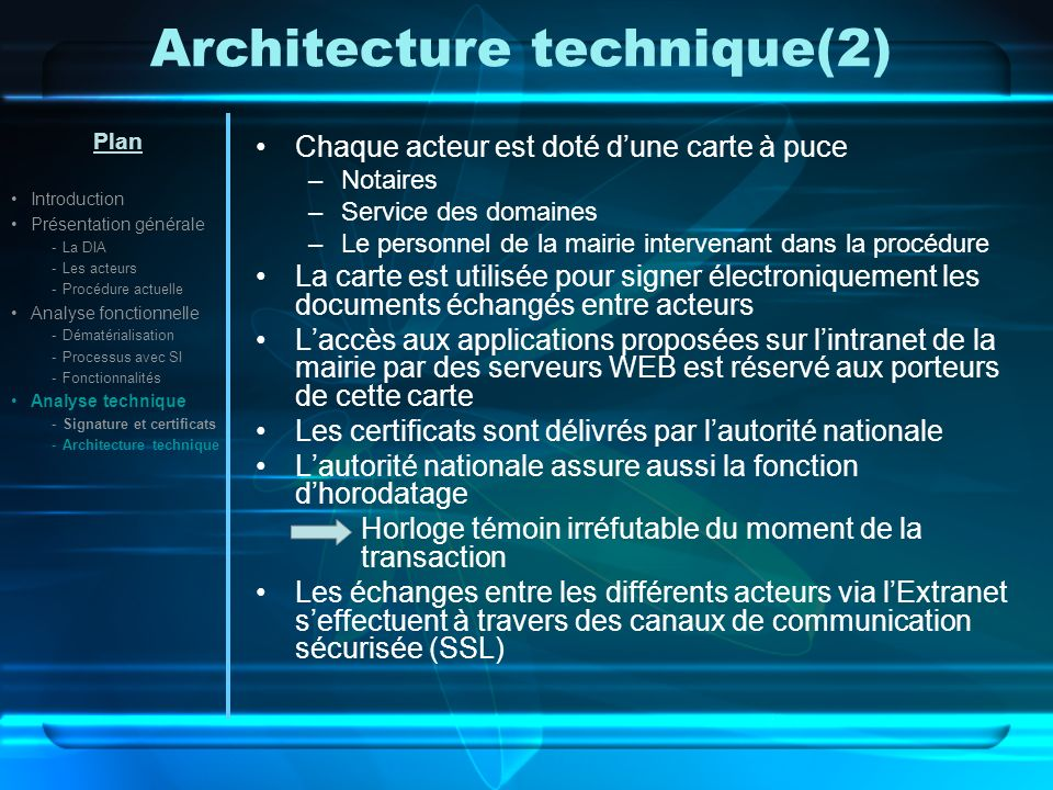 Architecture technique(2)
