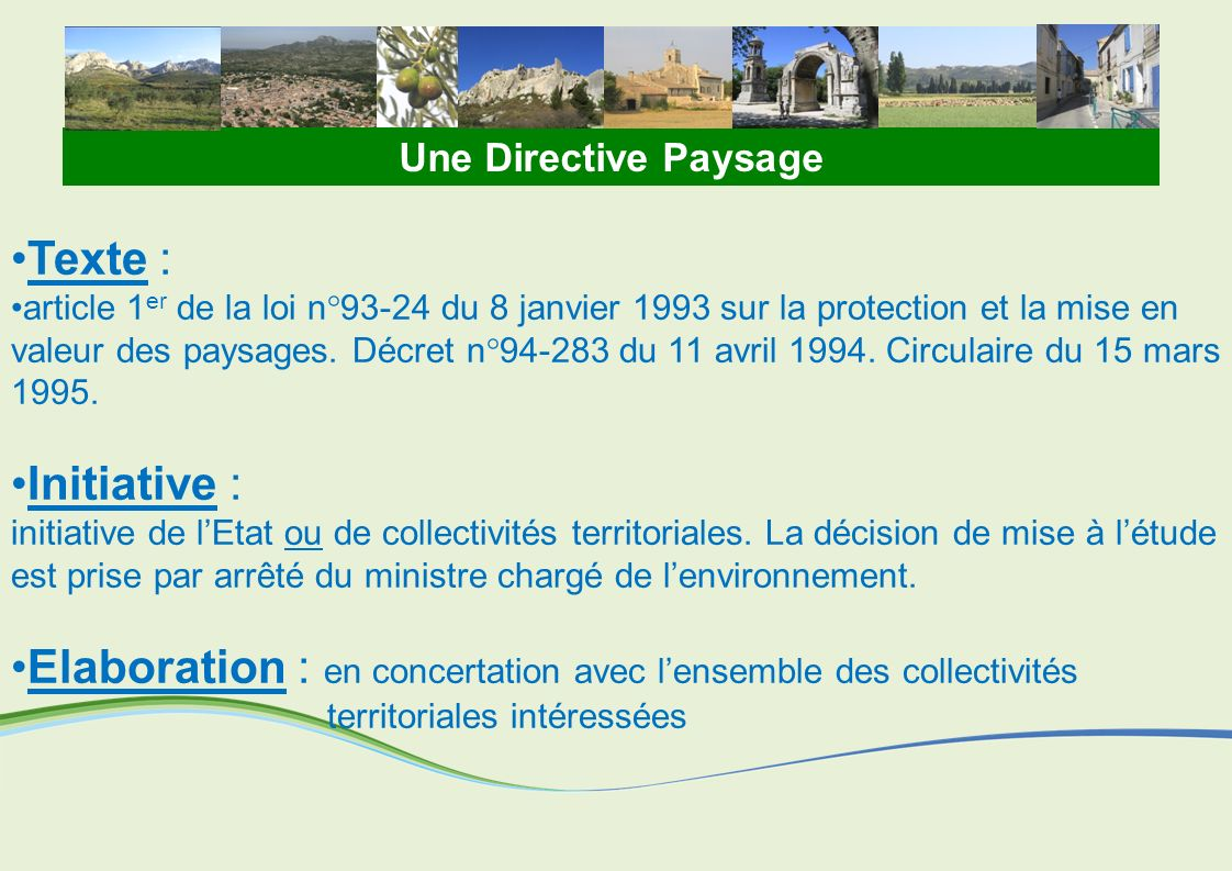 toitototototoot Une Directive Paysage. Texte :