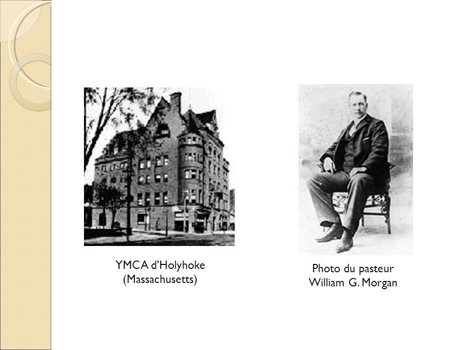 YMCA d'Holyhoke (Massachusetts) Photo du pasteur William G. Morgan