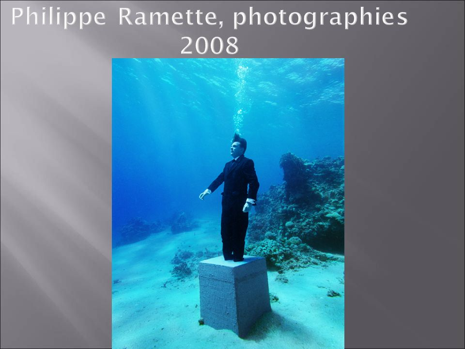 Philippe Ramette, photographies 2008