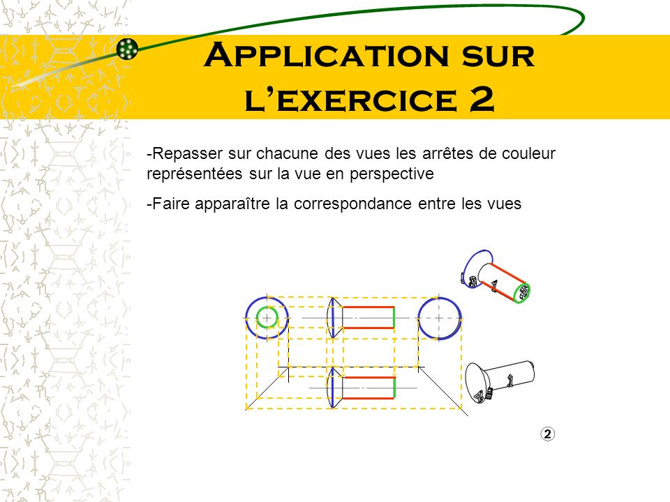 Application sur l'exercice 2