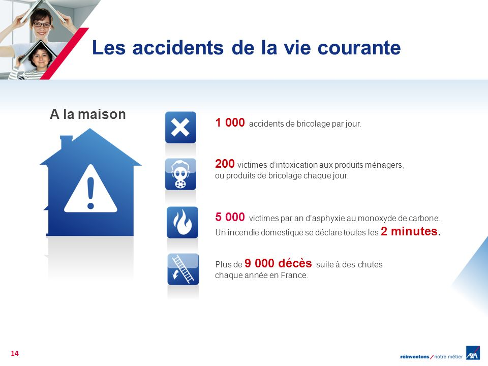 Les accidents de la vie courante