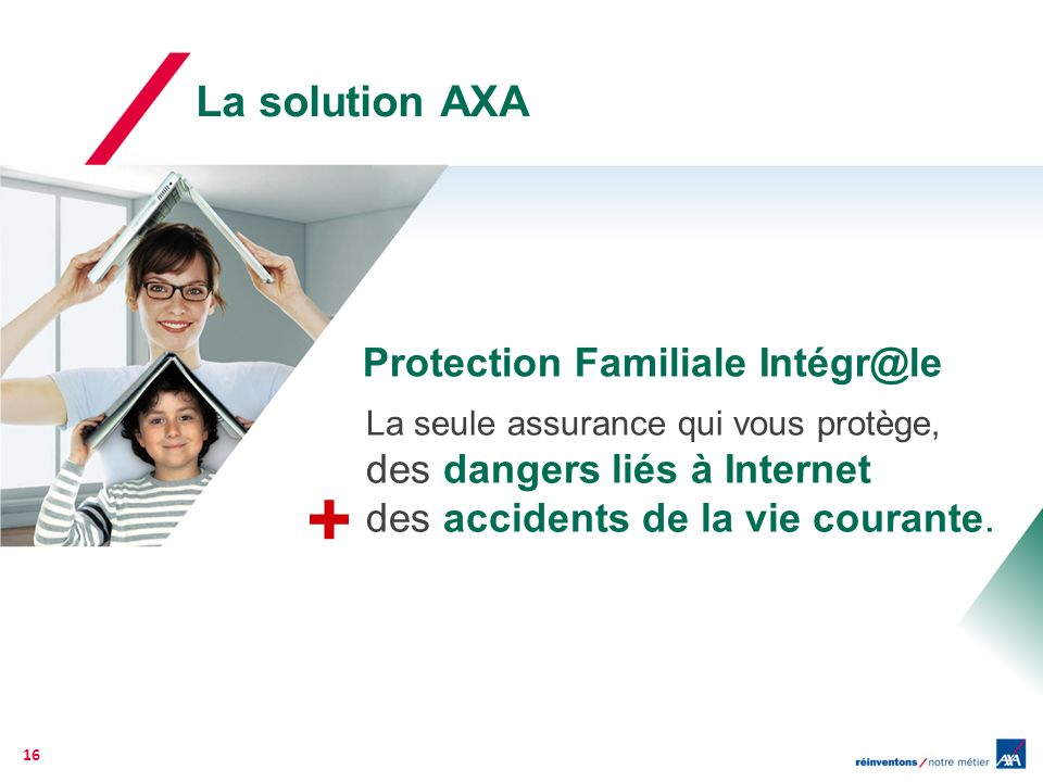 + La solution AXA Protection Familiale