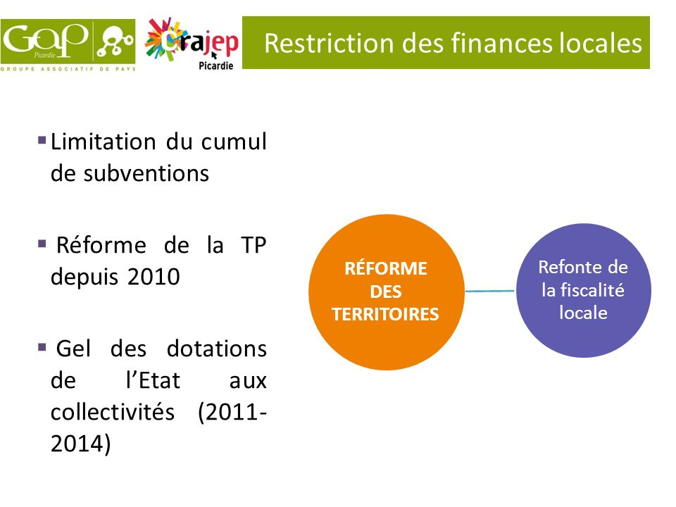 Restriction des finances locales