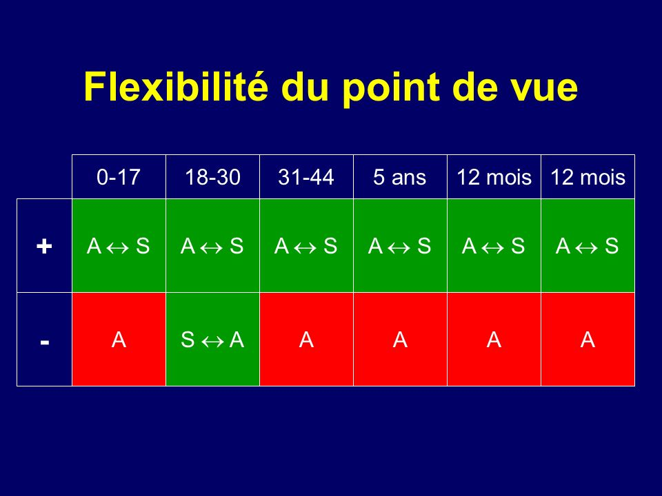 Flexibilité du point de vue