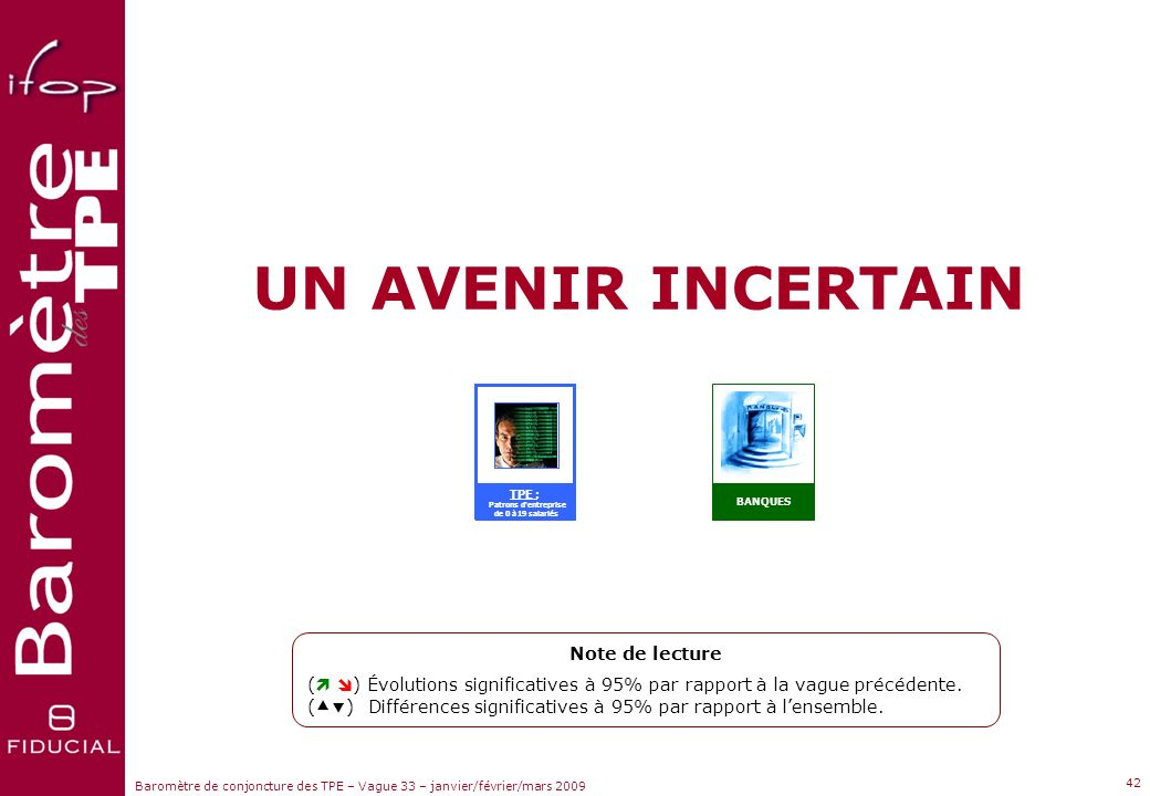 UN AVENIR INCERTAIN Note de lecture