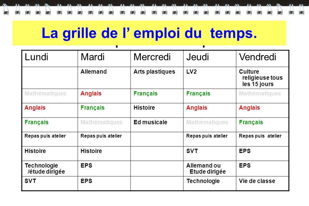 College sainte ursule ppt video online t l charger - Grille indiciaire controleur du travail ...
