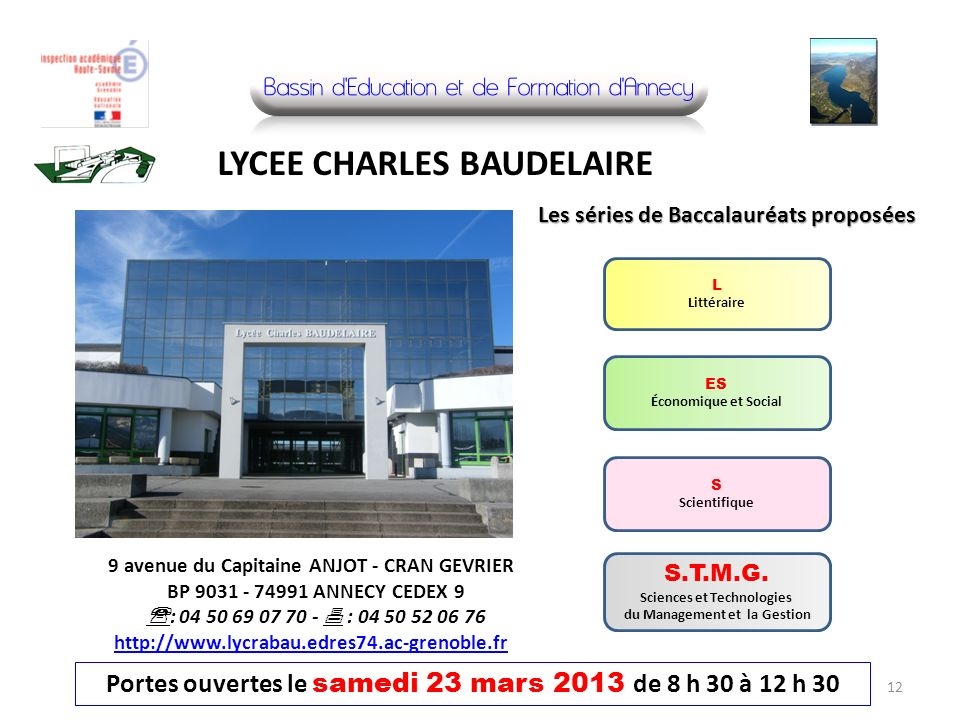 LYCEE CHARLES BAUDELAIRE