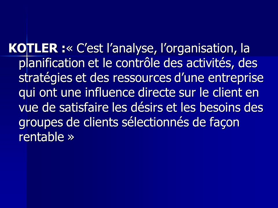 MANAGEMENT KOTLER TÉLÉCHARGER LIVRE DUBOIS GRATUIT MARKETING