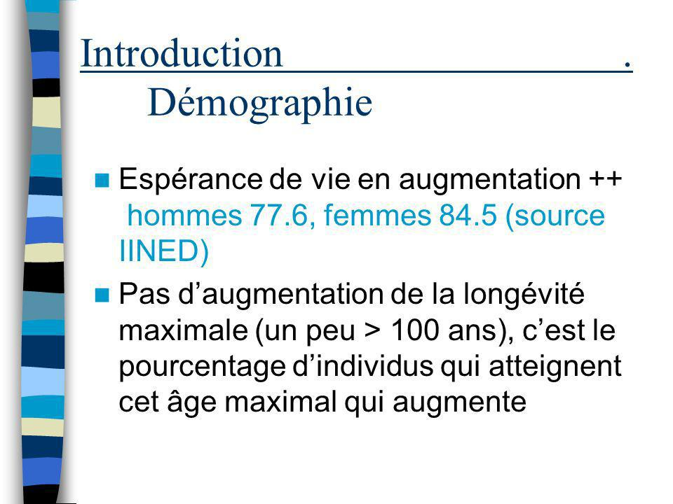 Introduction . Démographie