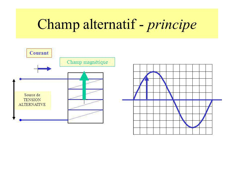 Champ alternatif - principe