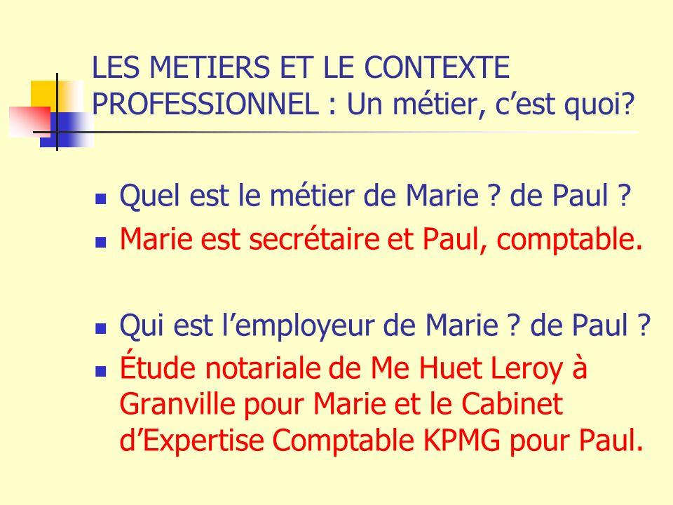Contexte economique de l activite professionnelle ppt - Cabinet d expertise comptable definition ...
