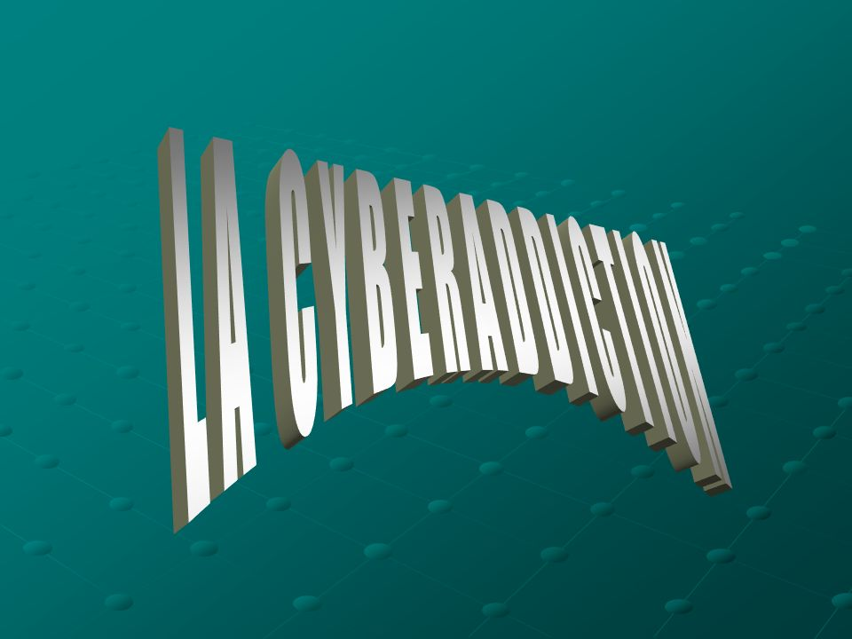 LA CYBERADDICTION