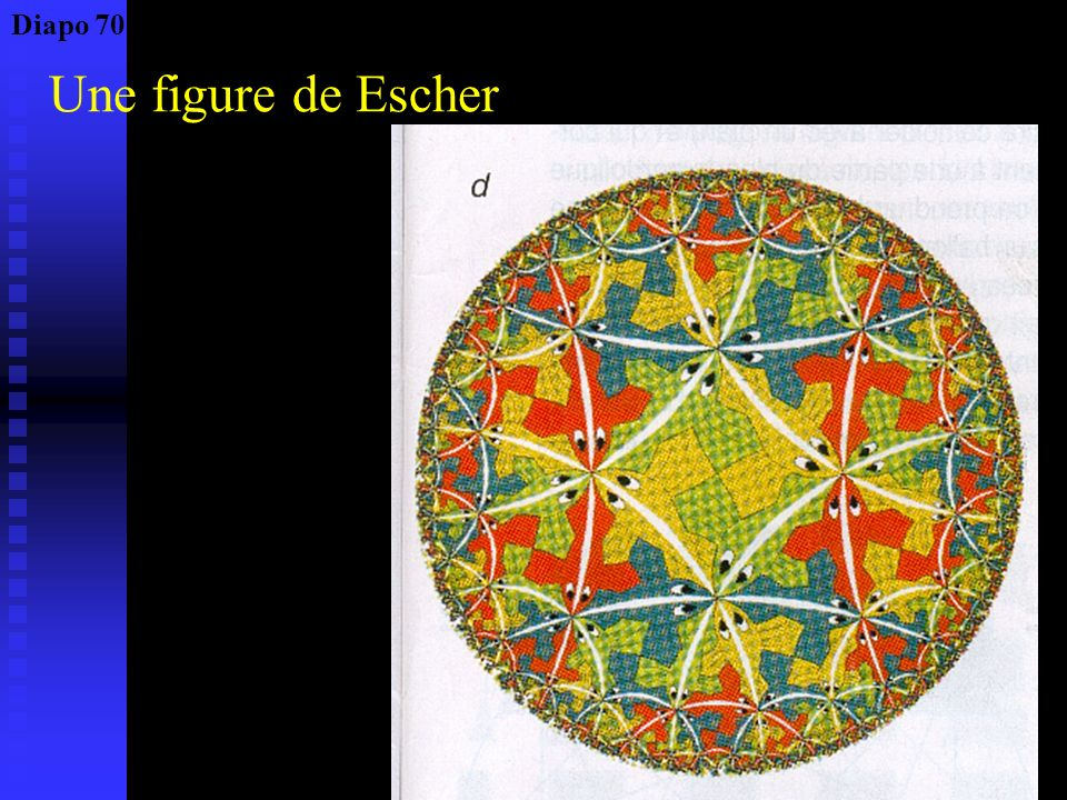 Diapo 70 Une figure de Escher