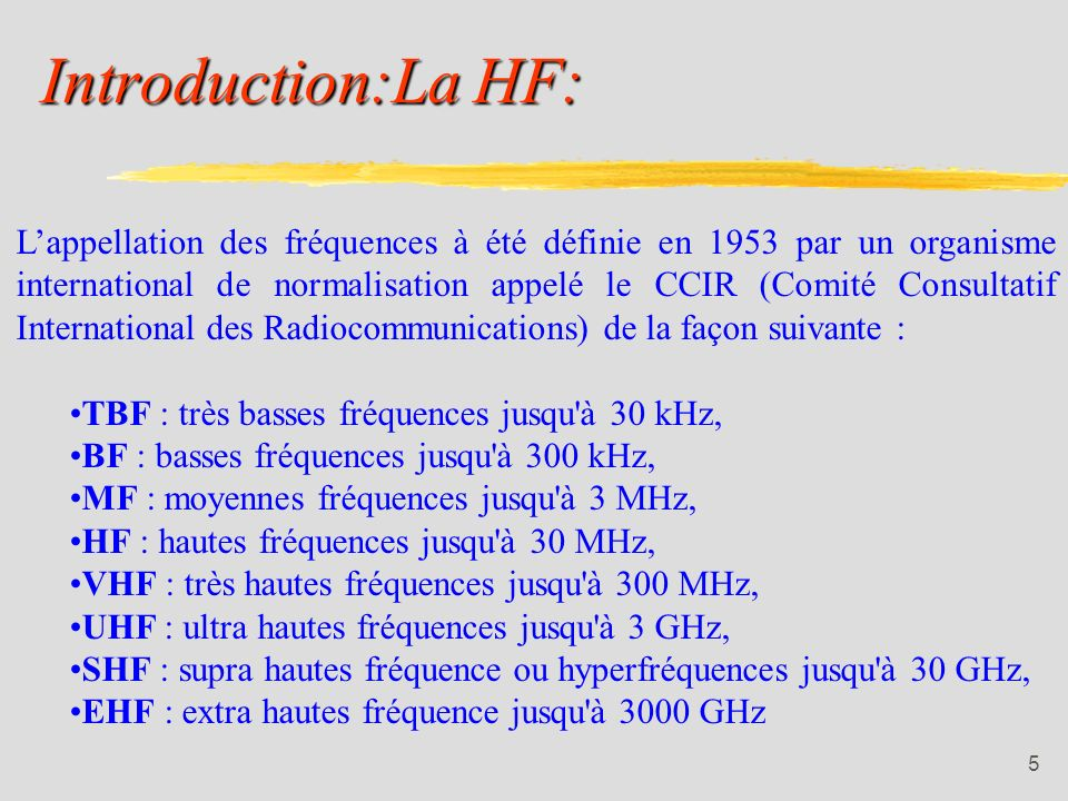 Introduction:La HF: