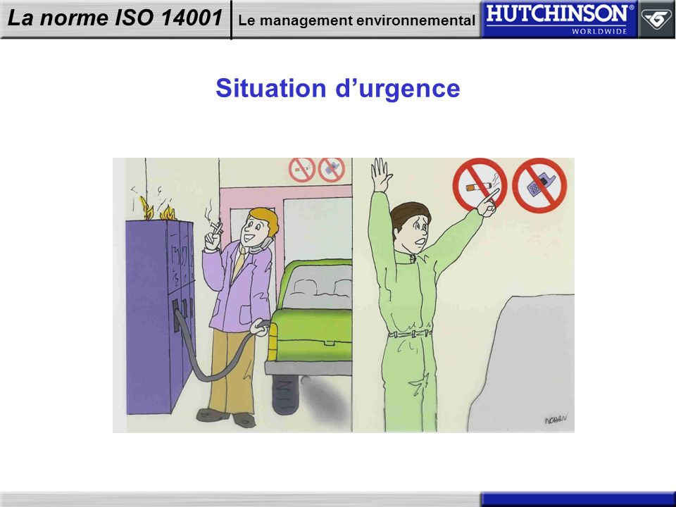 Situation d'urgence