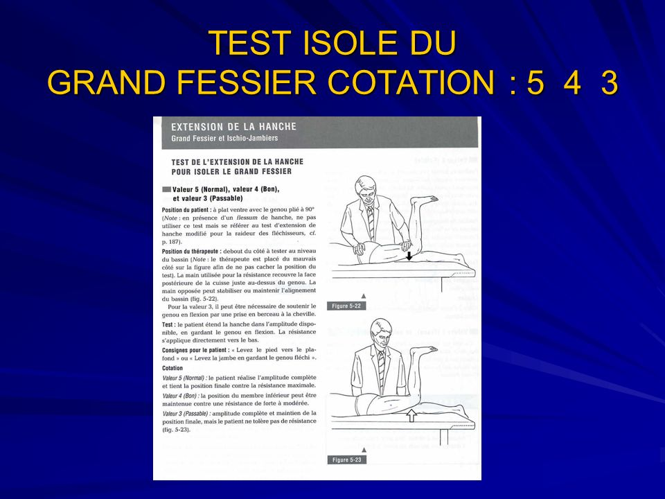 TEST ISOLE DU GRAND FESSIER COTATION : 5 4 3