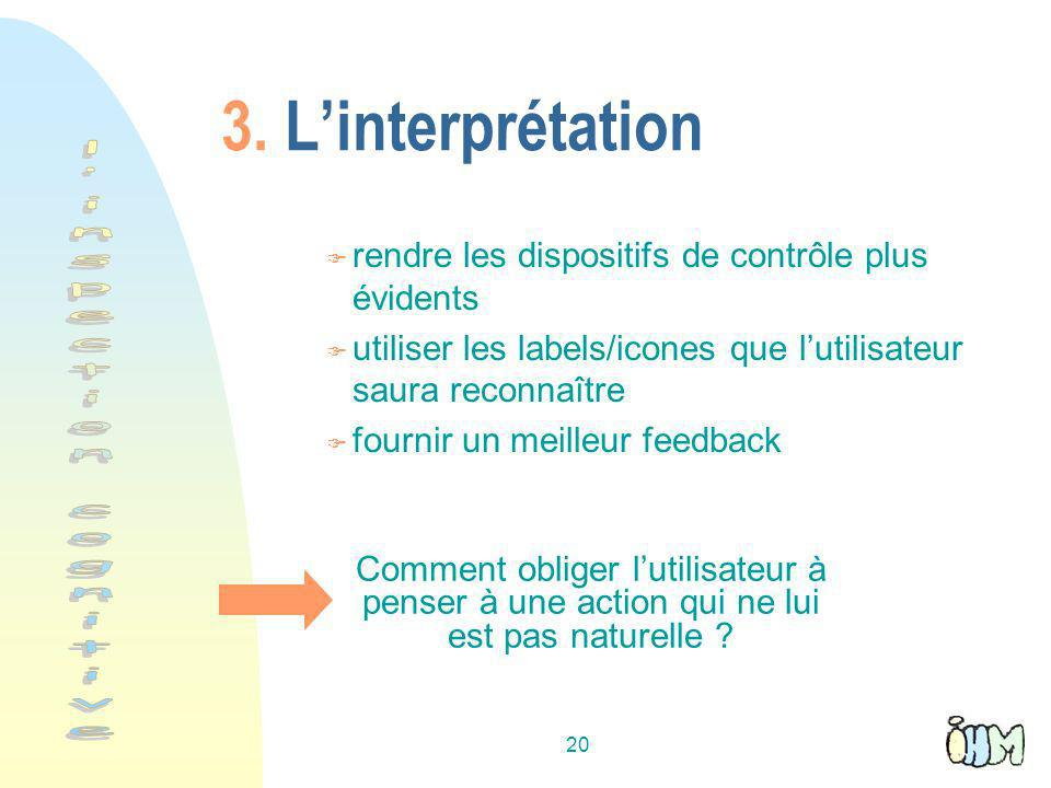 l inspection cognitive