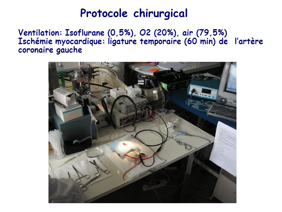 Protocole chirurgical