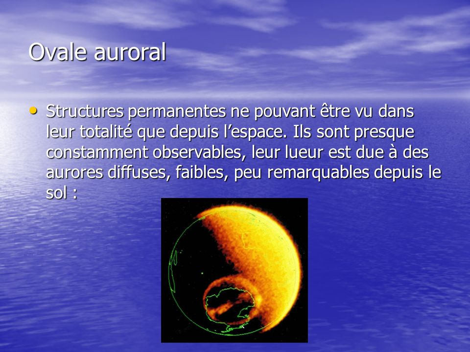 Ovale auroral