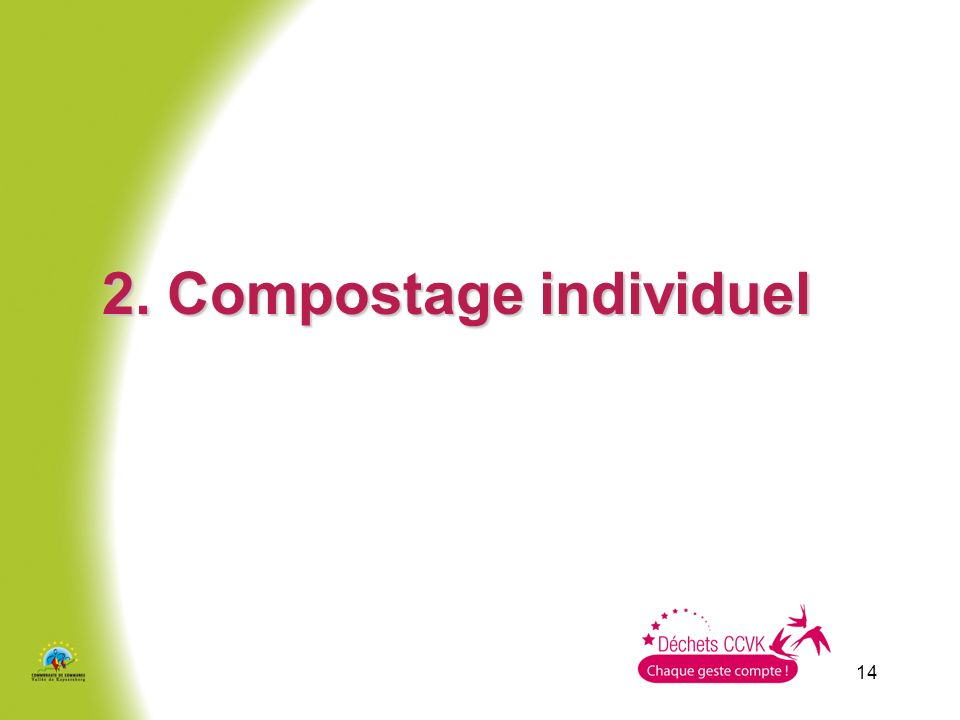 2. Compostage individuel