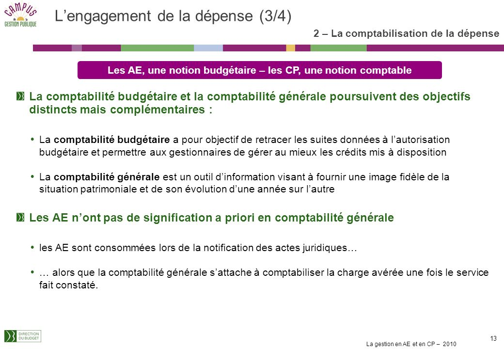 L'engagement de la dépense (3/4)